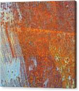 Rust On A Metal Surface Canvas Print