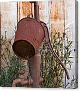 Rusted And Out Of Use Canvas Print