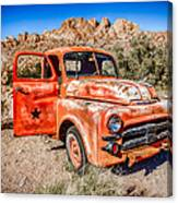 Rusted Classics - Job Rated Canvas Print