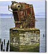 Rusted Equipment Canvas Print