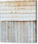 Rusted Metal Background Canvas Print