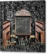 Rusted Old Tractor Canvas Print