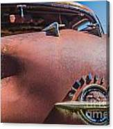 Rusted Oldsmobile Canvas Print