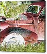 Rusted Truck 4 Canvas Print