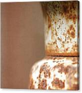 Rusted Urn Canvas Print