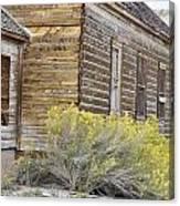 Rustic Building Canvas Print