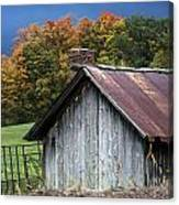 Rustic Farm Shed Canvas Print