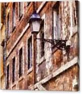 Rustic Rome Apartments Canvas Print
