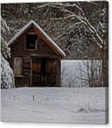 Rustic Shack After The Storm Canvas Print