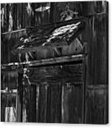 Rustic Shed 3 Canvas Print