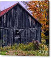 Rustic Vermont Barn Canvas Print