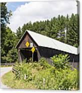 Rustic Vermont Covered Bridge Canvas Print