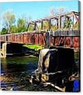 Rusting Bridge Canvas Print