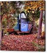 Rusting Truck Canvas Print