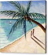 Rustling Palm Canvas Print