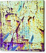 Rusty Background Canvas Print