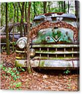 Rusty Caddy 3 Canvas Print