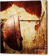 Rusty Headlamp Canvas Print
