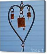 Rusty Heart 1 Canvas Print