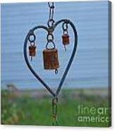 Rusty Heart 2 Canvas Print
