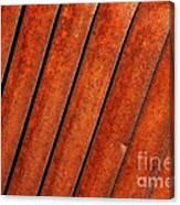 Rusty Hood Louvers Canvas Print