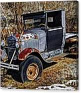 Rusty Model Aa Ford Canvas Print