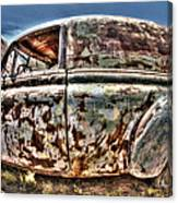 Rusty Old American Dreams - 4 Canvas Print