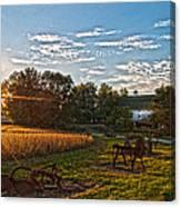 Rusty Old Farm Equipment Canvas Print