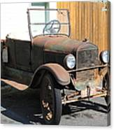 Rusty Old Ford Jalopy 5d24641 Canvas Print