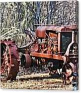 Rusty Old Tractor Canvas Print