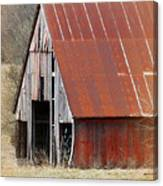 Rusty Ole Barn Canvas Print