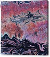 Rusty Pink Canvas Print