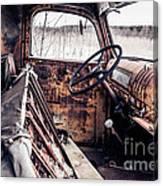 Rusty Relic Truck Canvas Print