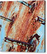 Rusty Spikes Canvas Print