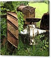 Rusty Tractor 1  Canvas Print