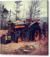 Rusty Tractor Canvas Print