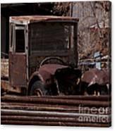 Rusty Truck   #1049 Canvas Print