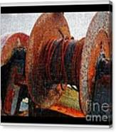 Rusty Winch  Canvas Print