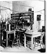 Rutherford's Cavendish Laboratory Canvas Print
