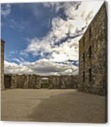Ruthven Barracks - 5 Canvas Print