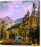 Rv And See America Canvas Print