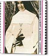 Rwanda Stamp Canvas Print