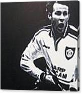 Ryan Giggs - Manchester United Fc Canvas Print