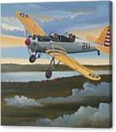 Ryan Pt-22 Recruit Canvas Print