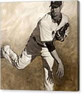 Ryan Vogelsong Perseverence Canvas Print
