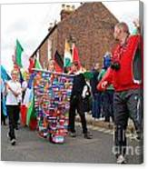 Rye Olympic Torch Relay Parade Canvas Print