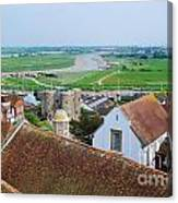 Rye Roofs Canvas Print
