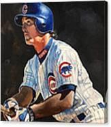Ryne Sandberg - Chicago Cubs Canvas Print