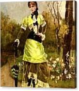 Sa Majeste La Parisienne Canvas Print