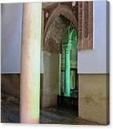 Saadian Tomb 3 Canvas Print